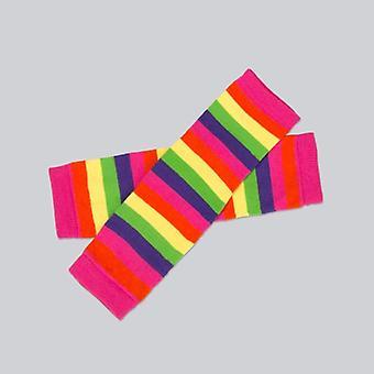 Baby Leg Warmers Winter New Rainbow High-quality Cotton Socks Set