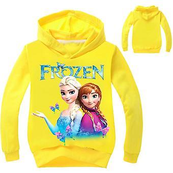 Kids Baby Toddlers Frozen Elsa/anna Printing Hoodies