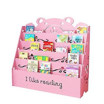 Lapset Kabinetti Huonekalut Muovi Puu Vauvan kirjahyllyn järjestäjä