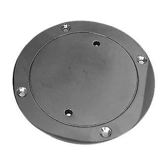 304 Stainless Steel Deck Round Plate Yacht Marine 150mm