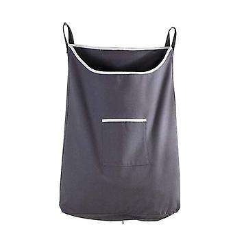 Husstand stor kapacitet beskidt tøj lomme hængende vasketøjspose