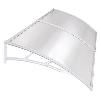 """Yescom 80""""x40"""" Outdoor Awning Patio Window Door Canopy Cover UV Protection Hollow Sheet"""