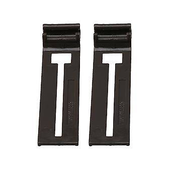 2pcs Dishwasher Rack Adjuster Clips for Whirlpool Replace Part W10195839
