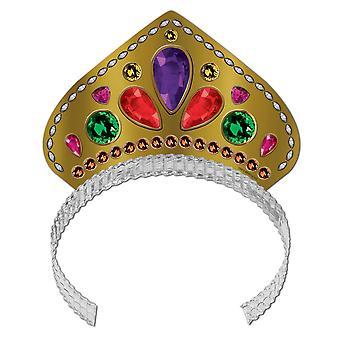 Gedruckte Jeweled Tiara (Packung mit 72)