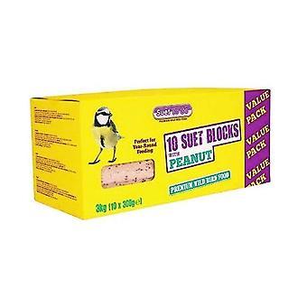 Suet to go peanut recipe suet block 300g (10 pack)