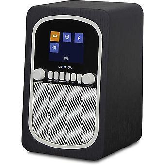 Wokex M1 Tragbares Retro DAB+ Digitalradio mit Akku (UKW Küchenradio,Bluetooth