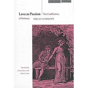 Liefde als passie door Niklas Luhmann