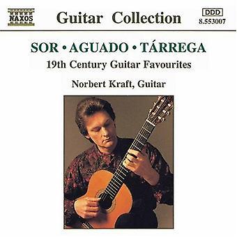 Sor/Aguado/Tarrega - Sor, Aguado, T Rrega: 19th Century Guitar Favourites [CD] USA import