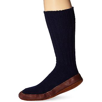 Calcetín de zapatilla original Acorn Unisex, plantilla flexible con cojín de nube flexible con suela de ante, longitud media de la pantorrilla