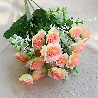 人工花の結婚式のシーン,レイアウト花リビングルーム,デスク, ホーム
