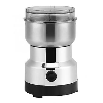 Powerful Electric Coffee Grinder, Stainless Steel, Bean Grinding Machine, Home