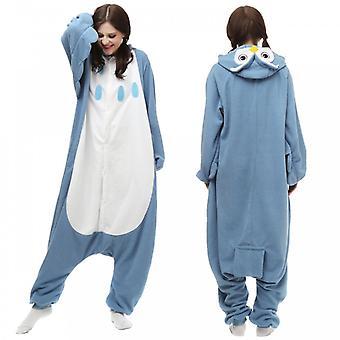 Regenboghorn Owl Kostume Pajama Onesie Kigurumi Buksedragt Animal Hoodie