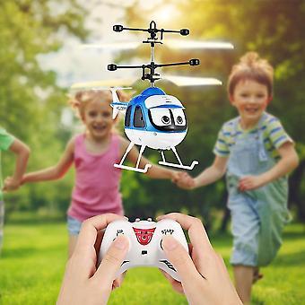 Para mini avión de juguete de inducción volando avión de control remoto de avión de control remoto helicóptero de dibujos animados control remoto WS14754
