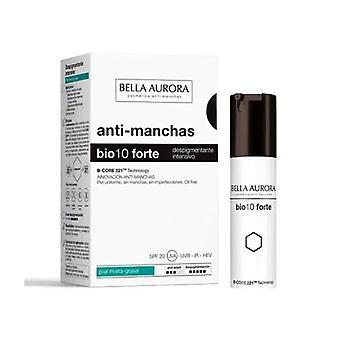 Antipigmentkräm Bella Aurora Bio10 Forte Känslig hud (30 ml) (30 ml)