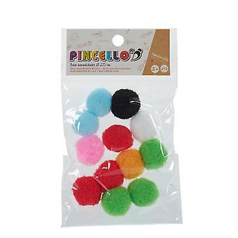 Materiaalit käsitöiden pallot 100 % polyesteri (12 kpl)