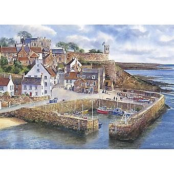 Gibsons Crail puerto Jigsaw Puzzle (1000 piezas)