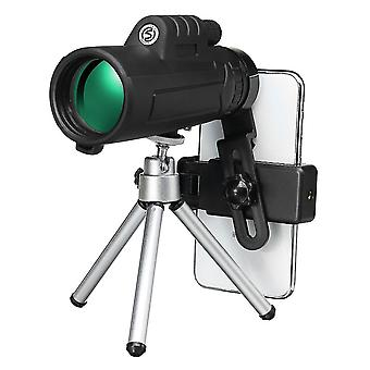 12 x 50 Outdoor Tragbare Monokular HD Optik Tag Nacht Sicht Telefon Teleskop Camping Reisen