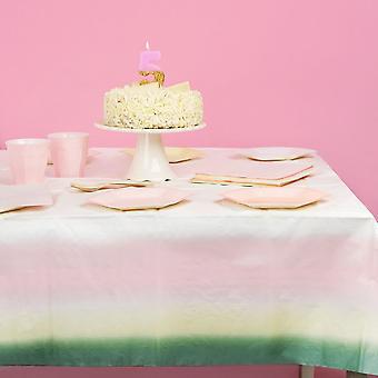 Paper Pastel Party Table Cover 180cm x 120cm