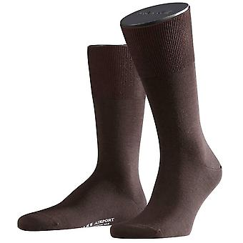 Chaussettes Falke Airport - Brown
