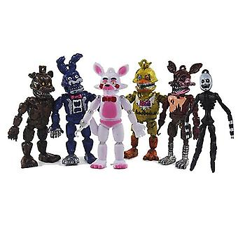 6PCS Five Nights At Freddy's Mini Figures Game Toy