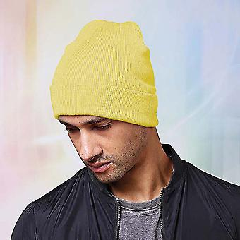Nutshell Adults Unisex Knitted Turn-Up Beanie