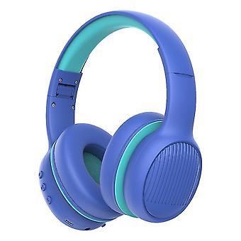 Safer Headphone For Kids(Blue)
