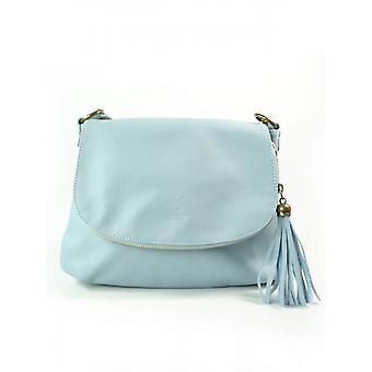 Vera Pelle A5 Chlebak Baby Blue VP1017BB ellegant  women handbags