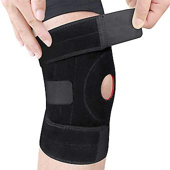 Joint Running Rubber Knee Protector (black)