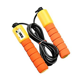 Electronic Count Skip Rope Pattern Rope Skipped Body Check Fitness Equipment
