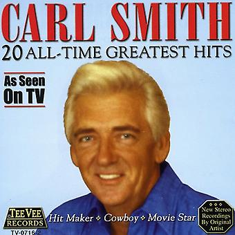 Carl Smith - 20 All Time Greatest Hits [CD] USA import