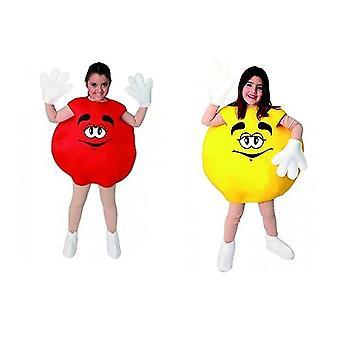 Candy costume Schokolinse Schokokostüm cracker costume children