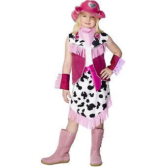 Cowboykostüm Cowboy Cowgirl Kostüm Kinder PINK