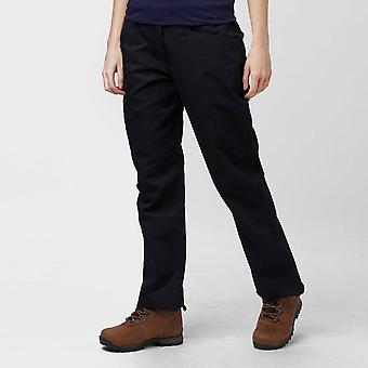 Nieuwe Peter Storm vrouwen Ramble II broek (lang) buiten zwart