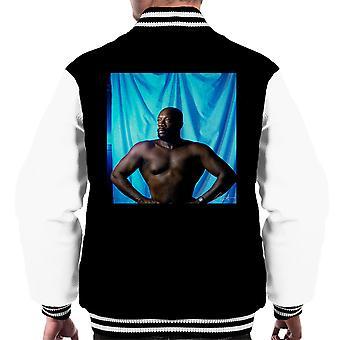Isaac Hayes Topless Männer Varsity Jacket
