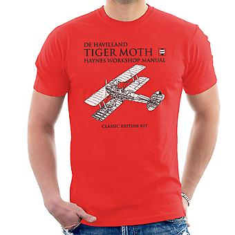 Haynes Owners Workshop Manual de Havilland Tiger Moth Men's T-Shirt
