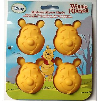 Disney Winnie the Pooh Shaped Silicone Molds