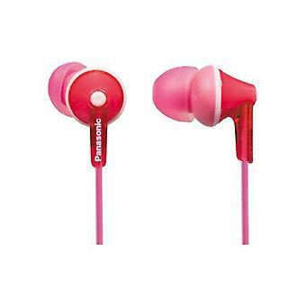 Panasonic Ergofit Słuchawki Stereo - różowy