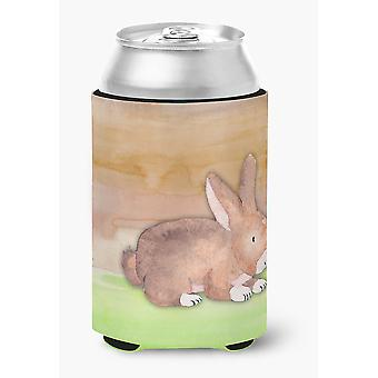 Carolines Treasures  BB7410CC Rabbit Watercolor Can or Bottle Hugger