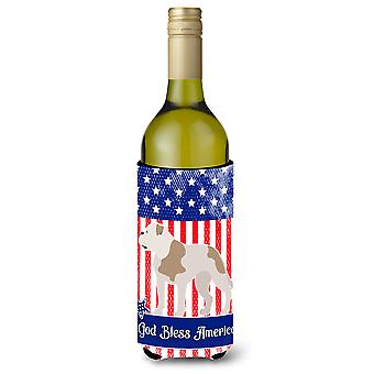 Amerikanische Bulldogge amerikanische Weinflasche Beverge Isolator Hugger