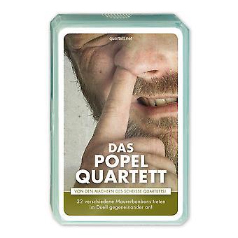 Pamela neus gouden Booger Quartet Quartet Duitse kaartspel
