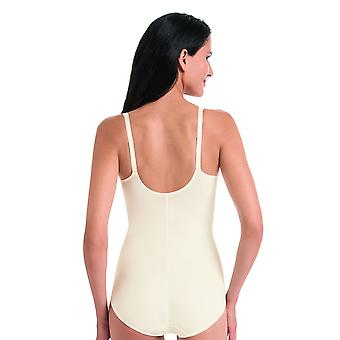 Rosa Faia 3467-612 Women's Charlize Crystal Off White Embroidered Underwired Bodysuit One Piece Body