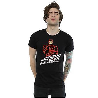 Laissez-vous émerveiller par Daredevil Slogan T-Shirt homme