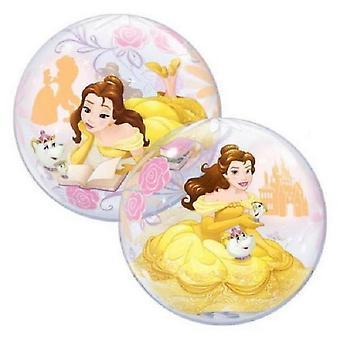 Qualatex Disney prinses Belle Single Bubble ballon