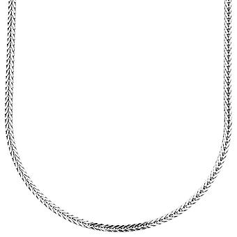 Sterling 925 Silver bling Frankish chain - 2x2mm