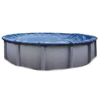 Swimline S15RD 15' Winter Round Above Ground Swimming Pool Cover Blue