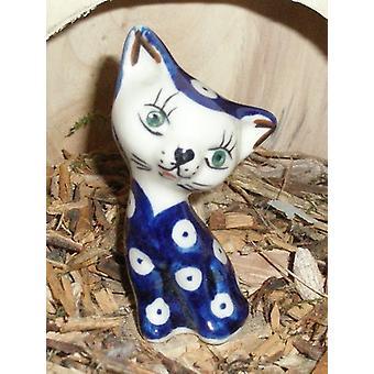 Gato, cerâmica de 8,5 cm - tradição 5 - polonês - BSN 5710