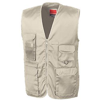 Result Mens Adventure Safari Hunting Fishing Gilet Waistcoat Bodywarmer