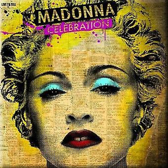 Madonna Fridge Magnet Celebration new Official 76mm x 76mm