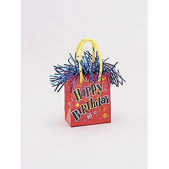 Ballon gewicht Mini handtas Happy Birthday