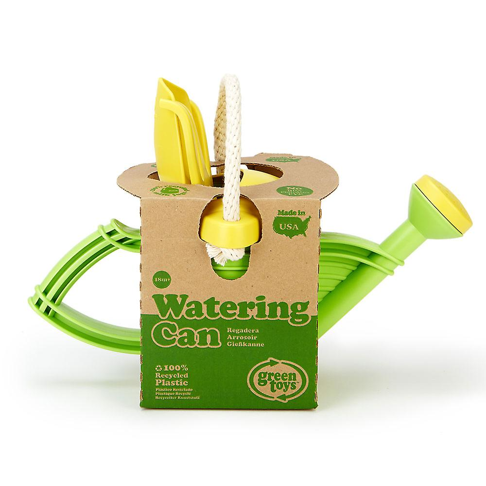 Green Toys Children's Gardening Watering Can (Green) BPA Free 100% Recycled
